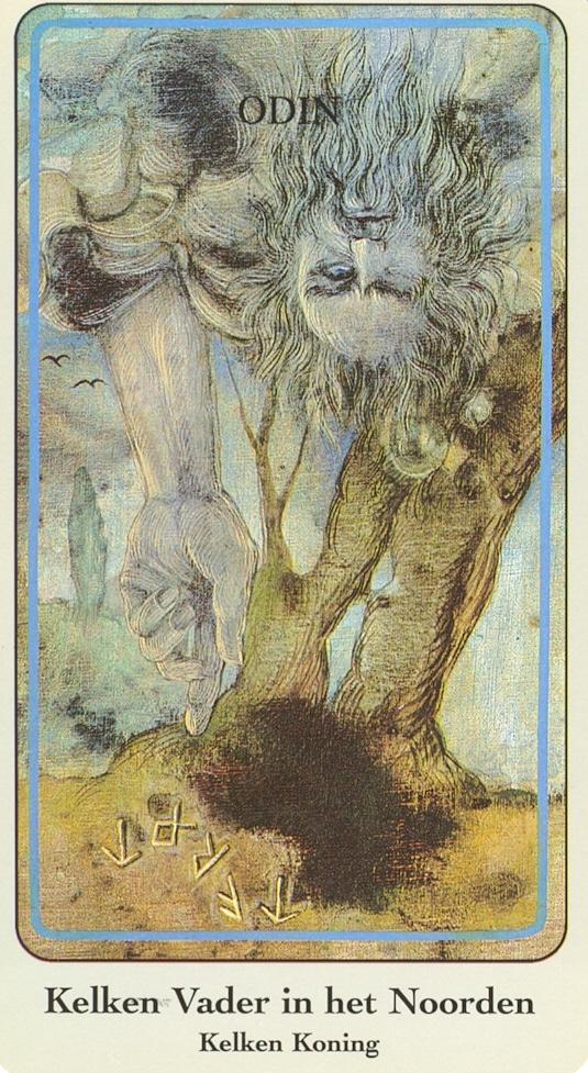 Haindl Tarotkaart Kelken Vader