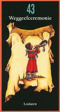 moeder aarde tarotkaart 43 weggeefceremonie