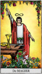 Tarotkaart De Magiër – over willen en je hebt het al
