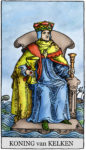 Tarotkaart Kelken Koning