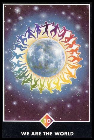 osho zen tarot wij zijn de wereld regenbogen 10