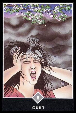 osho zen tarot schuldgevoel wolken 8