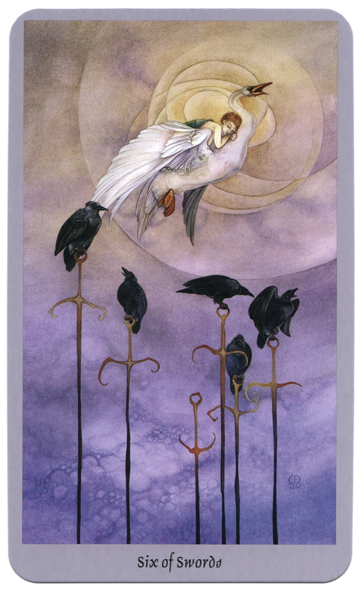 shadowscapes tarot zwaarden 6