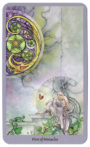Shadowscapes Tarot - Pentakels Vijf