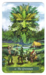 Green Witch Tarot - De Groene man