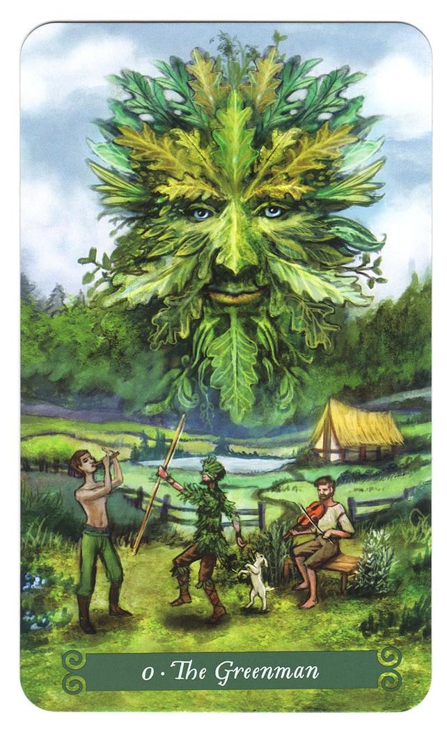 Green Witch Tarot – De Groene man