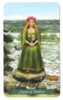 Green Witch Tarot - Koningin van Kelken
