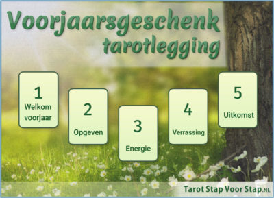 Voorjaarsgeschenk - lente equinox ostara tarotlegging