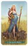 Green Witch Tarot Aardemoeder (De Keizerin)