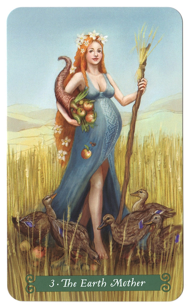 Green Witch Tarot Aardemoeder