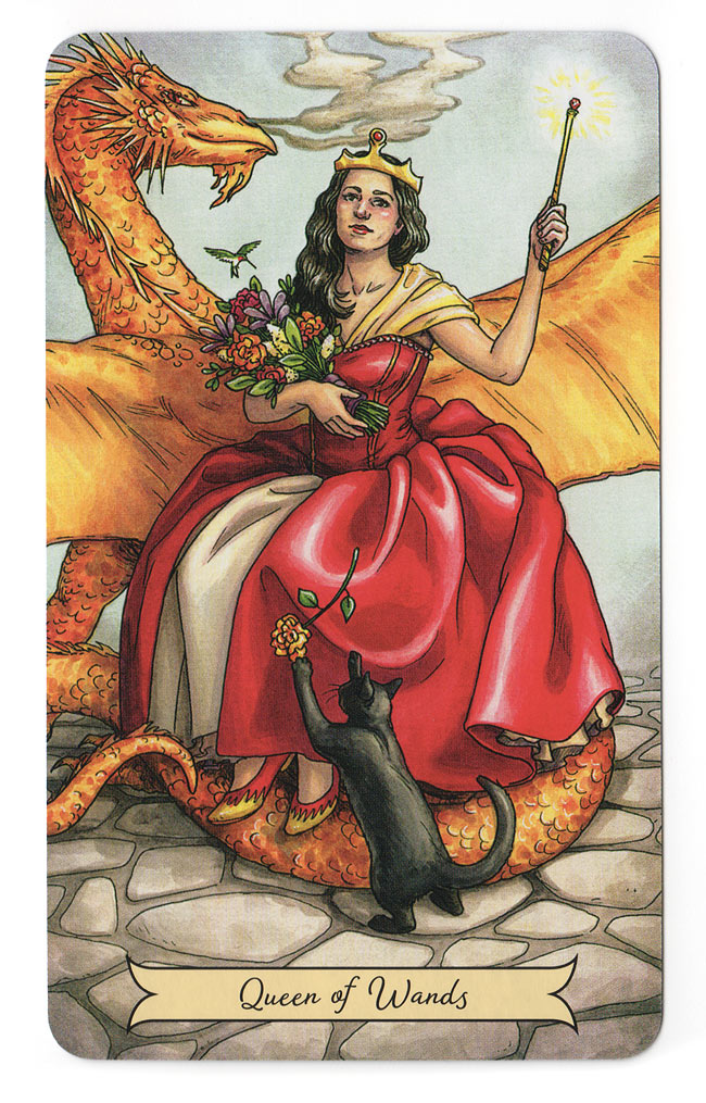 everyday witch tarot koningin staven
