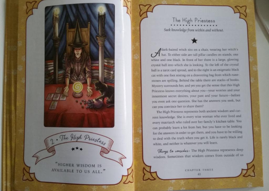 Witch Tarot Hogepriesteres