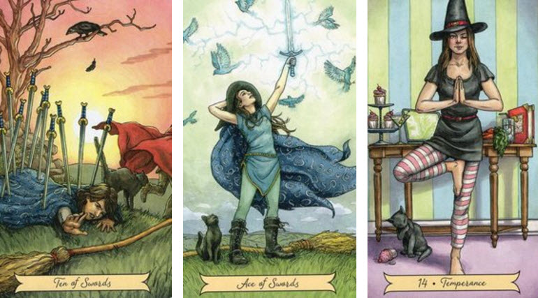 Tarotconsult met Everyday Witch Tarot kaarten