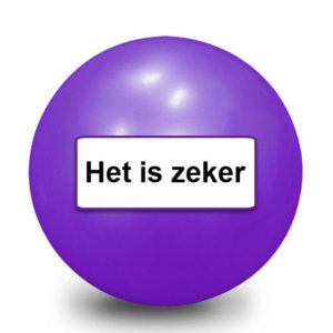 magic 8 ball het is zeker