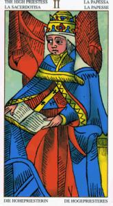 02 hogepriesteres Universal Tarot Marseille