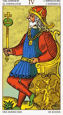 04 keizer universal tarot marseille