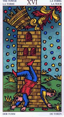 16 toren universal tarot marseille