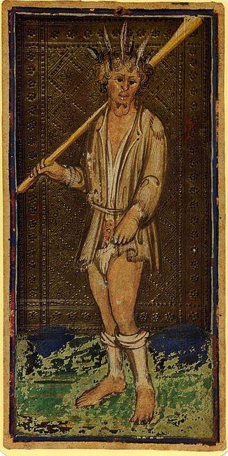 De Dwaas uit de Visconti-Sforza Tarot