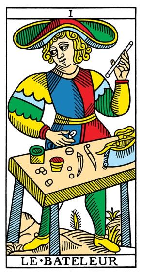 Ben-Dov Tarot Marseille Magiër