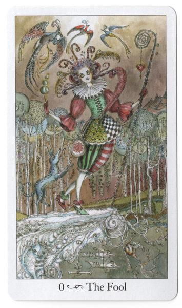 Tarotkaart De Dwaas Paulina Tarot