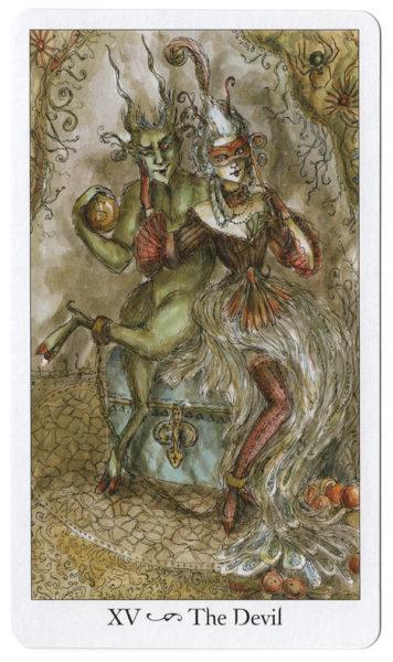 De Duivel Paulina Tarot