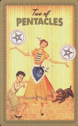 Pentakels 2 - Huisvrouwen Tarot