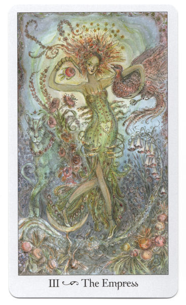 Tarotkaart De Keizerin Paulina Tarot