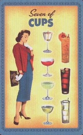 Housewives Tarot Kelken Zeven