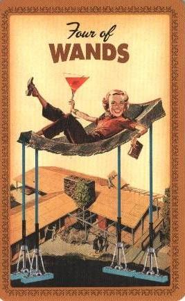 Kabouters en de Martini Tarotlegging