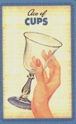 Housewives Tarot Kelken Aas