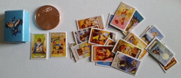miniature tarot of gnomes
