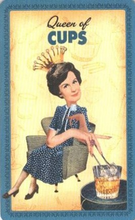 Housewives Tarot Kelken Koningin