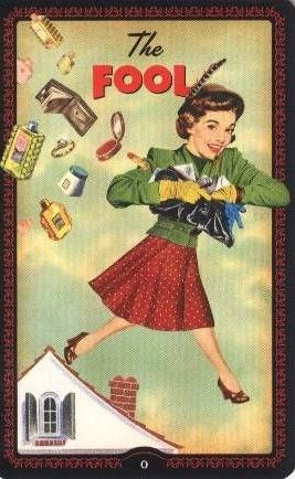 De Dwaas - Huisvrouwen Tarot