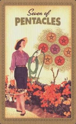 Huisvrouwen Tarot Pentakels Zeven