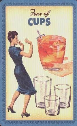 Housewives Tarot Kelken 4
