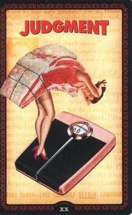 Huisvrouwen Tarot Het Oordeel