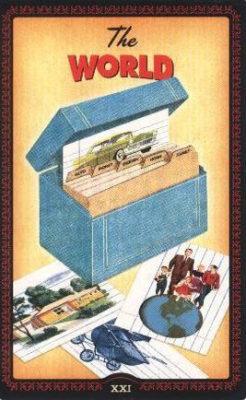 Huisvrouwen Tarot De Wereld