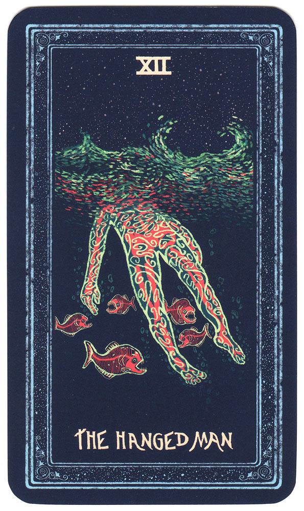 De gehangene uit de Prisma Visions Tarot