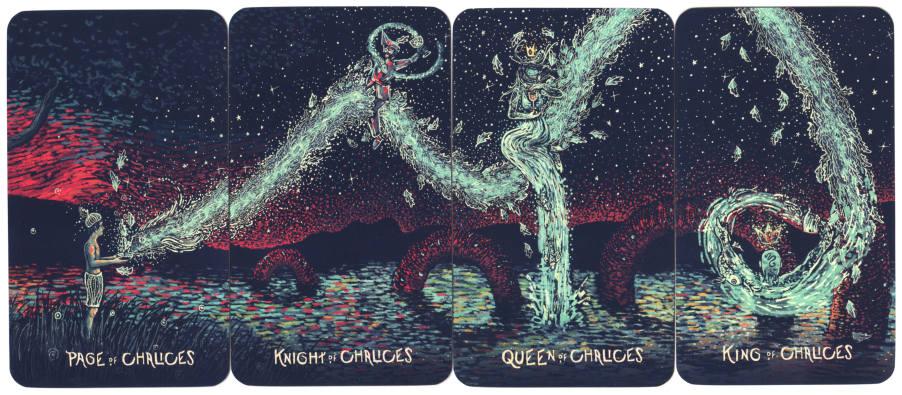 Tarot Hofkaarten Kelken - Prisma Visions