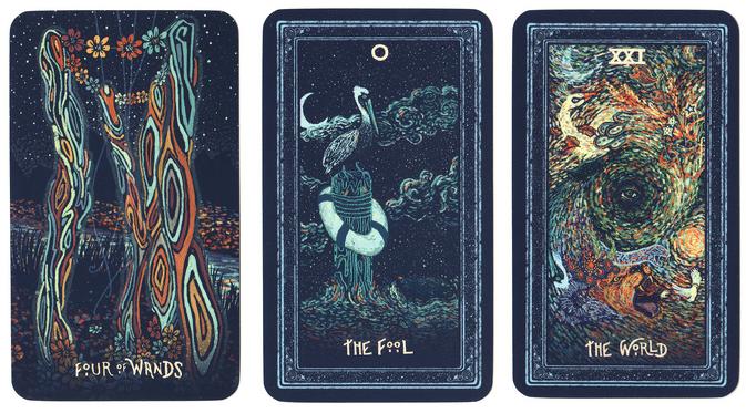 De Prisma Visions Tarot introduceert zichzelf