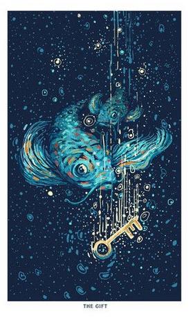 Prisma Visions Tarot - Het Geschenk, extra kaart 2e editie