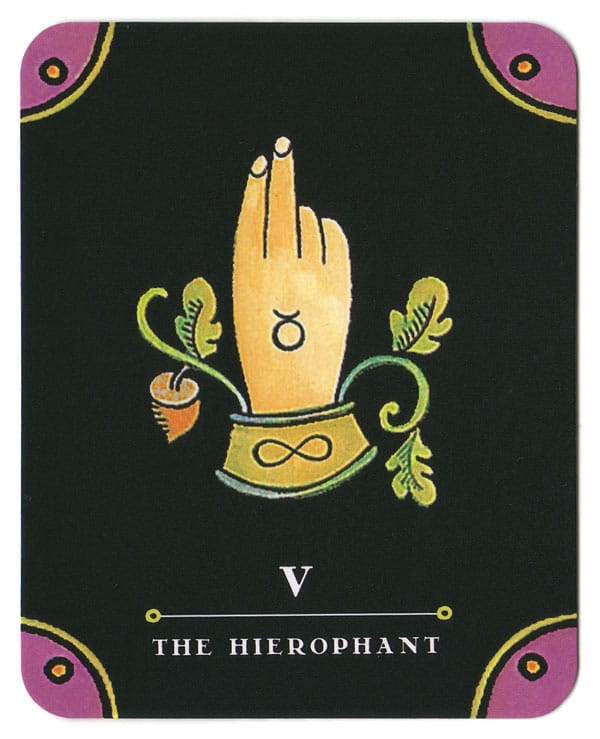 Je bent gezegend - Hierophant tarot kit