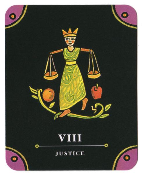 kleine tarot gerechtigheid