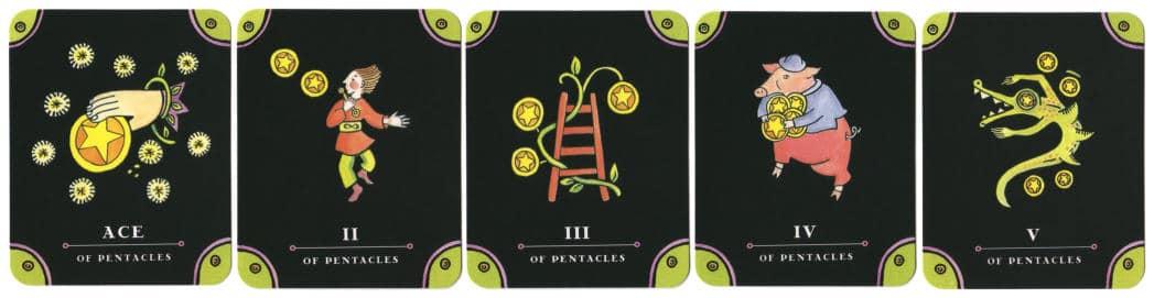 Tarot - The Complete Kit - tarotkaarten Pentakels 1tm5