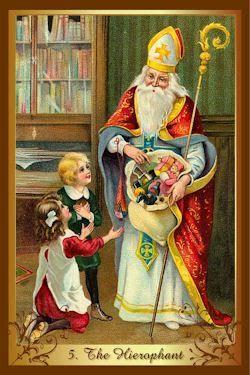 hogepriester kenner kerst tarot