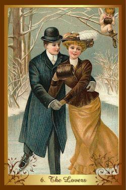 geliefden kenner kerst tarot