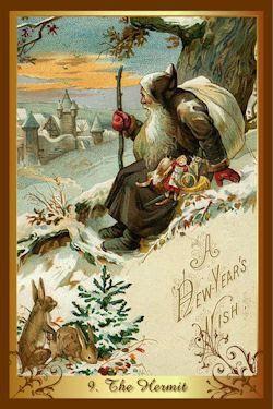 kluizenaar kenner kerst tarot
