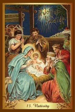 kenner kerst tarot nativity