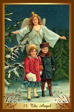 kenner kerst tarot de engel