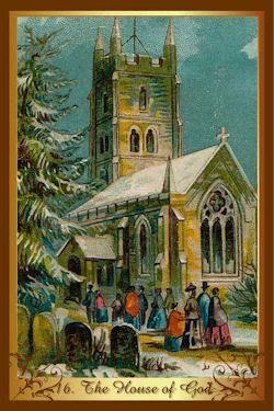 kenner kerst tarot huis van god